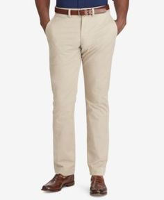 Polo Ralph Lauren Men's Big & Tall Classic-Fit Stretch Chino Pants - Khaki Tan 46x32