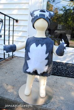 Big Bad Wolf Costume by janiegirlcrafts on Etsy, $55.00