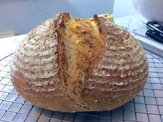 """Levine van Doorne's Light Brown Bread (yeasted) from her new book """"Meer brood uit eigen oven"""". Wheat & Rye."""
