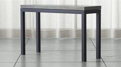 Parsons Console Table with Concrete Top | Crate and Barrel
