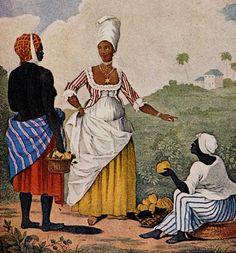 Free Woman of Color, Barbados, 1770s