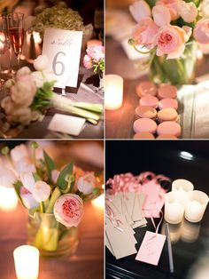 I like the macaroons.. and the flowers