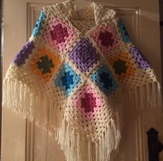 You can make this to fit any size. Depends how many Granny Squares you use.