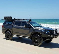 Have a look at this superb custom Tacoma - what an artistic style and design Toyota 4x4, Toyota Trucks, Toyota Hilux, Toyota Tacoma, Custom Trucks, Pickup Trucks, Triton 4x4, New Triton, Montero Sport