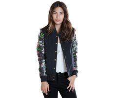 Leather Jacket Fall Essential: Obey, $118. #SelfMagazine