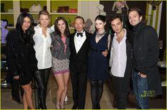 Eric Daman met Gossip Girl cast
