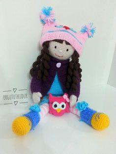 Amigurumi bebek crochet doll