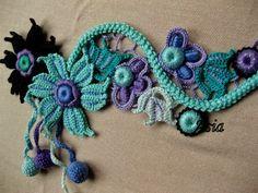 Letras e Artes da Lalá: Crochê irlandês/irish lace (fotos do google, sem receitas)