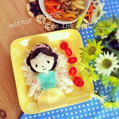 Biancaneve (idee-per-far-mangiare-verdure-ai-bambini) by Samantha Lee