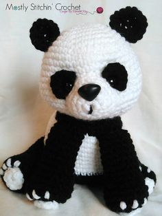 Ravelry: Panda Bear pattern by Meredith May Oooh, really cute!!