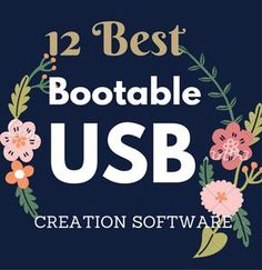 Software / tools to create bootable Windows or Linux from USB flash drive to boot from USB. Tools will help you to make USB drive a bootable drive and install and try new operating systems.