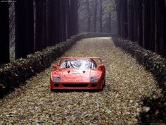 """Enzo Ferrari, after his first ride in the F40: """"This car is so fast it'll make you shit your pants."""""""