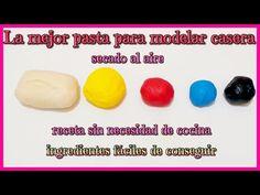 Pasta de modelar sin horno hecha en casa: la receta de Isa de elmundodeisa.com…