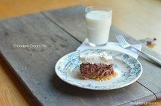Super Easy Memorial Day Dessert - Chocolate Cream Pie