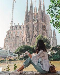 Sagrada Familia de Gaudi, Barcelona, Spain