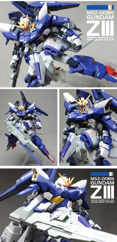 Gundam Daddy: MSZ-008 ZIII