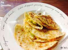 Cookingwithsapana: Veg Quesadillas