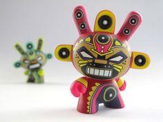 Dunny Azteca II  by Kidrobot