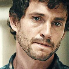 """Hannibal / Will Graham-Hugh Dancy:  """"He's eating them....""""  And, the slightest little smirk dances across his face after announcing his deduction...."""