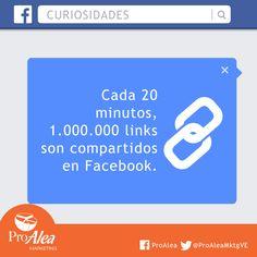 #ProAlea #curiosidades #FaceBook