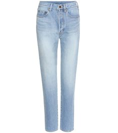 Saint Laurent - Cropped jeans - Saint Laurent's slim-fit jeans, crafted from…