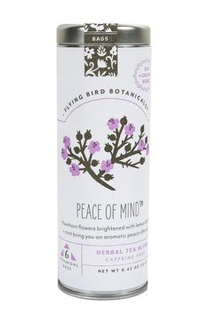 Peace of Mind Herbal Tea #packaging #design