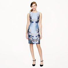 Collection hummingbird floral dress - Cocktail - Women's dresses - J.Crew