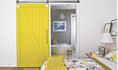 Love the yellow barn door  (© Laurey W. Glenn, RobbieCaponetto /Southern Living)