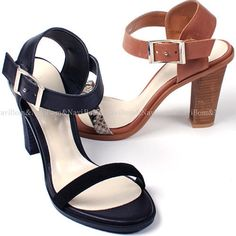 NEW WOMENS SANDALS&HAND MADE LEATHER STRAP SHOES 2COLOR AU