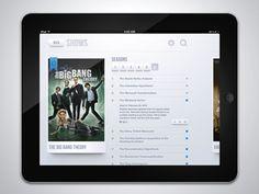 Dribbble - Tv Shows app - Detail by Miguel Oliva Márquez