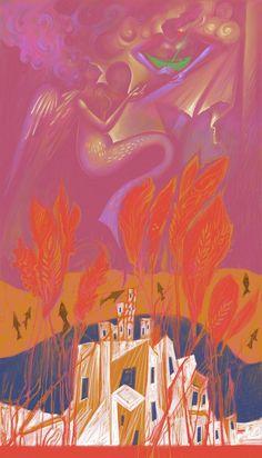 Richard Burlet, Visionary Art, Sign Printing, Christmas Art, Artsy, Digital, Prints, Painting, Beautiful
