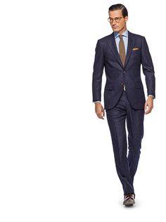 Lazio Blue Stripe Suit Supply.