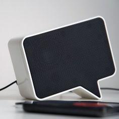 Cute smartphone speaker from Yanko design