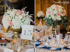 Woodland Fields Photography   Goodwood Museum & Gardens Tallahassee, FL wedding   Missy Gunnels Flowers   Papaya Planning   centerpieces tall and small