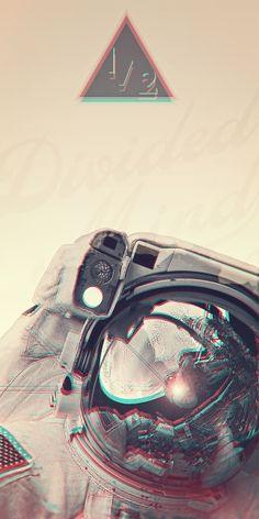 Stereoscopic Astronaut