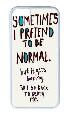 iPhone 6 Case Color Works Funny Quote Sometimes i Pretend To Be Normal Phone Case Custom White PC Hard Case For Apple iPhone 6… https://www.amazon.com/iPhone-Sometimes-Pretend-Normal-Custom/dp/B015C3SBLY/ref=sr_1_658?s=wireless&srs=9275984011&ie=UTF8&qid=1469858400&sr=1-658&keywords=iphone+6 https://www.amazon.com/s/ref=sr_pg_28?srs=9275984011&fst=as%3Aoff&rh=n%3A2335752011%2Ck%3Aiphone+6&page=28&keywords=iphone+6&ie=UTF8&qid=1469857974