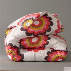 Poppy double duvet cover in 100% cotton. Could use as backing for quilt?