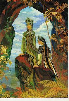 """П.П.Бажов""""Две ящерки""""(иллюстрацииВ. Назарука)."""
