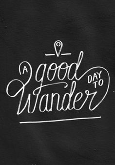 Good day to wander · Studio koning · Posters · R$85,00