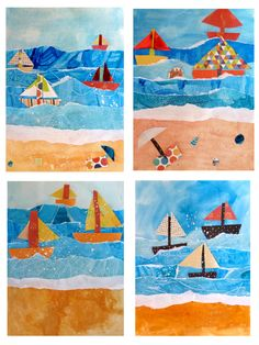 example of foreground middleground background for kids - Google Search