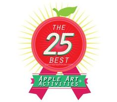 25 of the very best carefully curated apple art projects and apple activities for children Apple Activities, Activities For Kids, Apple Recipes For Kids, Apple Art Projects, Imagination, The Creator, Crafts For Kids, Core, Parents