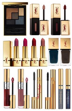 FALL 2014 BEAUTY | YSL CUIRS FETICHES COLLECTION