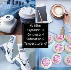 Exposure +1 Contrast -1 Saturation +2 Temperature -3