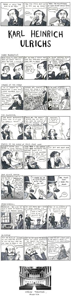 From Hark, a Vagrant by Kate Beaton. How did I not know about Karl Heinrich Ulrichs?
