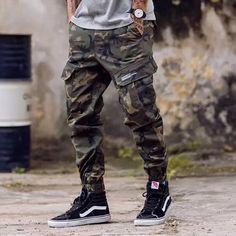 European American Fashion Streetwear Mens Jeans Jogger Pants Youth Fashion Summer Ankle Banded Pants Brand Boot Cut Jeans Pants is part of Jogger jeans Item Type Jeans Gender Men Material Denim Mode - Army Pants, Cargo Pants Men, Jogger Pants, Jeans Pants, Cut Jeans, Pants For Men, Military Pants, Camo Joggers, Mens Joggers