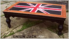 Paint a piece of furniture...Union Jack!!!