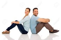 Image result for images of people sitting back to back