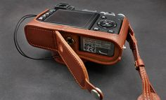 Fuji X100 X100S Leather Cameras Case Fuji Half by CamerasBagShop, $59.00
