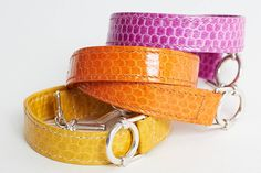 snake leather bracelet with silver toggle by mmzs jewellery design | notonthehighstreet.com