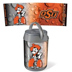 Oklahoma State Cowboys Mini Can Cooler by Picnic Time